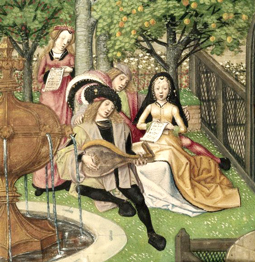 The-Garden-of-Pleasure.-15th-C.-Harley-4425-British-library
