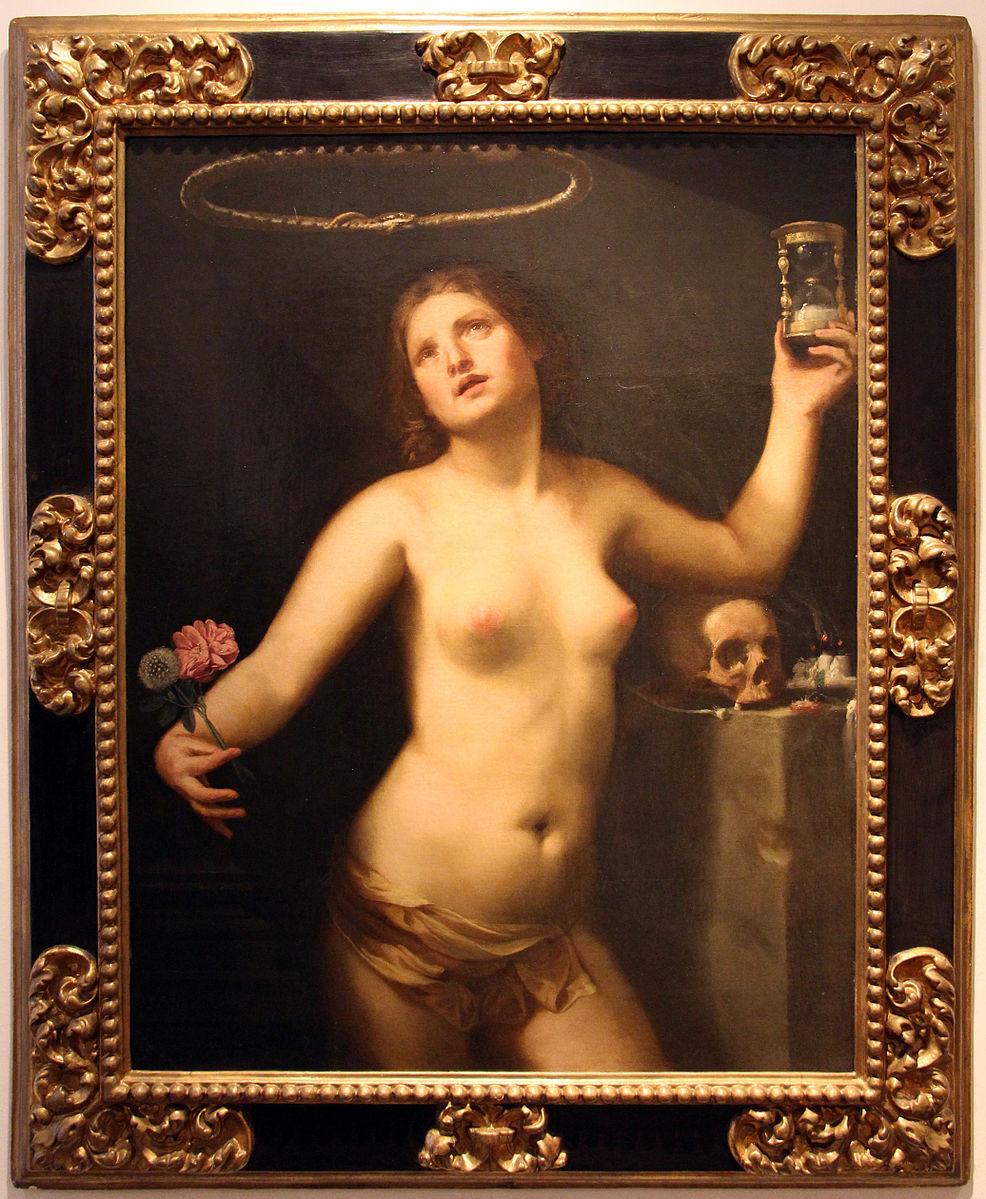 Guido_cagnacci,_allegoria_del_tempo_(la_vita_umana),_1650_ca.,_da_fondaz._cavallini_sgarbi_a_ro_ferrarese_01.JPG