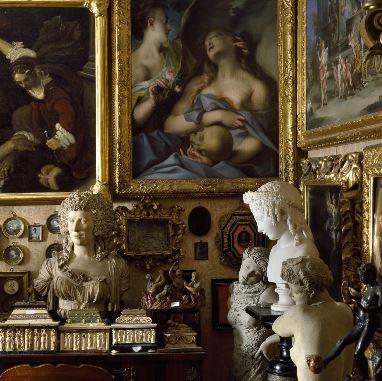 Collezione Cavallini-Sgarbi nelle sue stanze