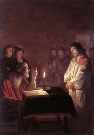 gerritvanhonthorst-christbeforethehighpriest1617