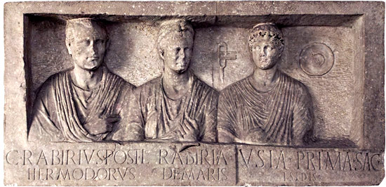 monumento funerario dei Rabiri-via appia