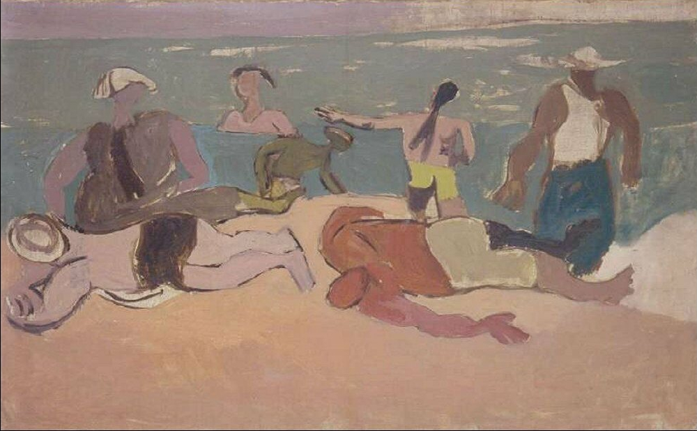 basaldella_afro_003_spiaggia_1945